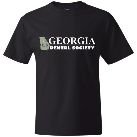 Georgia Dental Society (GDS) 5180 Hanes Beefy T-Shirt
