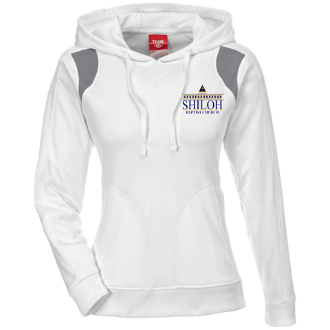 Shiloh Baptist Church TT30W Team 365 Ladies' Colorblock Poly Hoodie