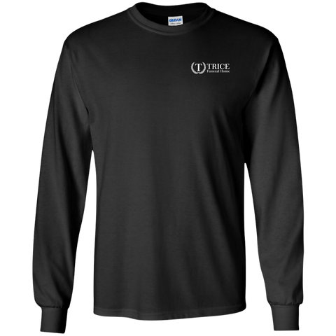 Trice Funeral Home G240 Gildan LS Ultra Cotton T-Shirt