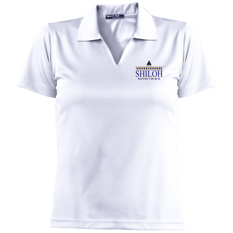 Shiloh Baptist Church L469 Sport-Tek Ladies' Dri-Mesh Short Sleeve Polo