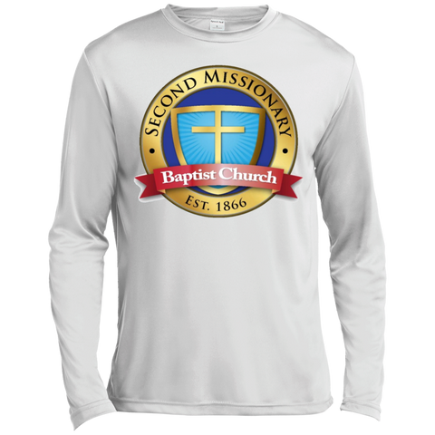Second Missionary Baptist Church ST350LS Spor-Tek LS Moisture Absorbing T-Shirt