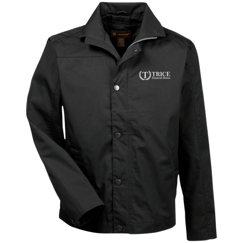 Trice Funeral Home M705 Harriton Canvas Work Jacket