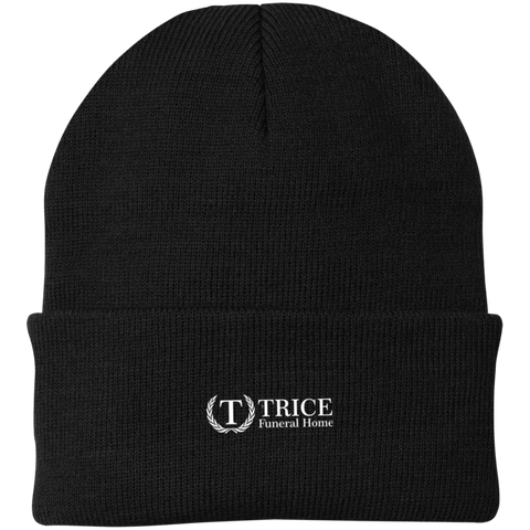 Trice Funeral Home CP90 Port Authority Knit Cap