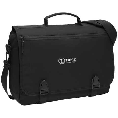 Trice Funeral Home BG304 Port Authority Messenger Briefcase
