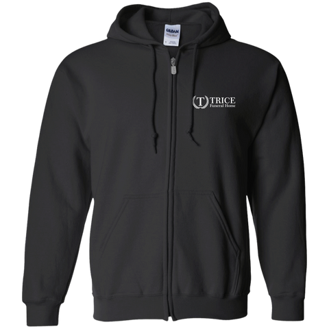 Trice Funeral Home G186 Gildan Zip Up Hooded Sweatshirt