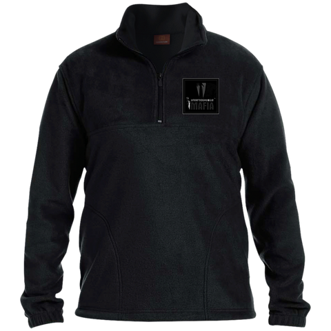 UnderdogHUSTLE Mafia M980 Harriton 1/4 Zip Fleece Pullover