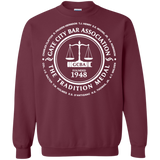 Gate City Bar G180 Gildan Crewneck Pullover Sweatshirt  8 oz.