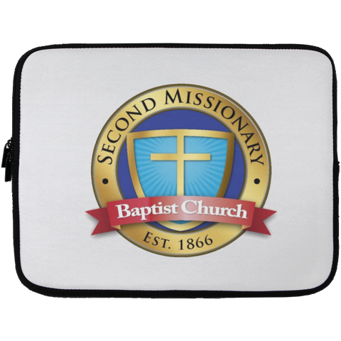 Second Missionary Baptist Church Laptop Sleeve - 13 inch