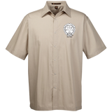 NFD&MA M545 Harriton Men's Snap Closure Short Sleeve Shirt