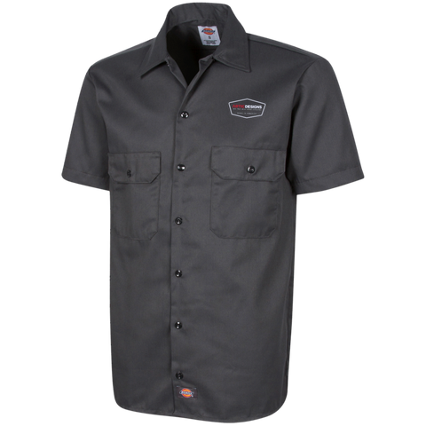 Artic Designs1574 Dickies Men's Short Sleeve Workshirt