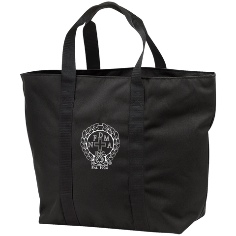 NFD&MA B5000 Port & Co. All Purpose Tote Bag
