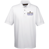 Shiloh Baptist Church M345 Harriton Men's Snap Placket Performance Polo