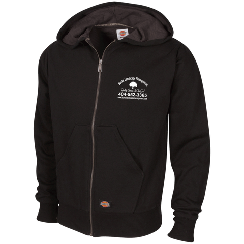 Burke Landscape Management TW382 Dickies Thermal Fleece Hoodie