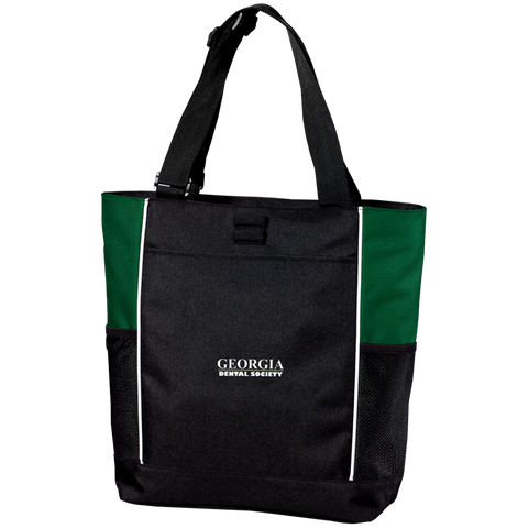 Georgia Dental Society (GDS) B5160 Port Authority Colorblock Zipper Tote Bag