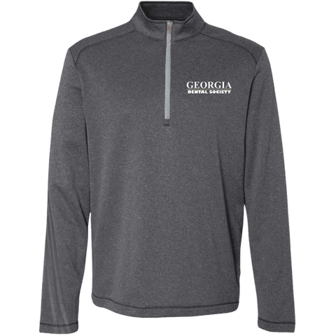 Georgia Dental Society (GDS) A274 Adidas Men's Terry Heather 1/4 Zip