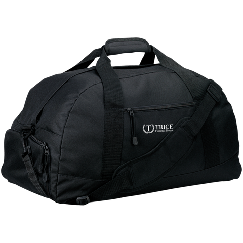 Trice Funeral Home BG980 Port & Co. Basic Large-Sized Duffel Bag