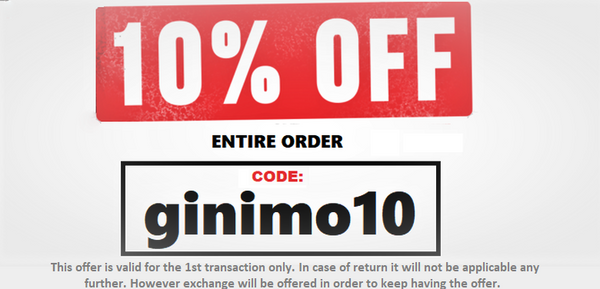 10% discount entire order