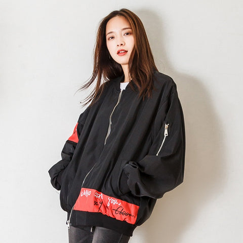 Baseball Oversized Jacket