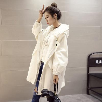 Korean style white jacket