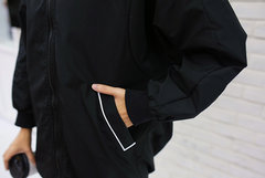 Korean fashion black jacket