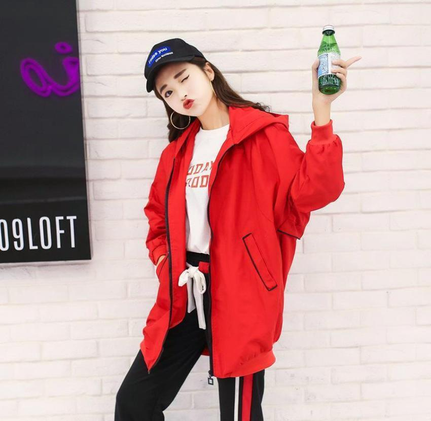 Korean fashion loose jacket