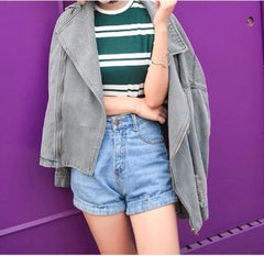 Oversized Grey Jacket