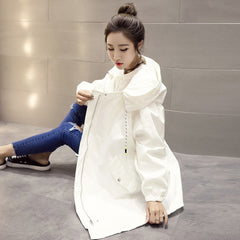 White autumn coat