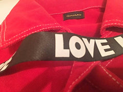 ginimo love red jacket