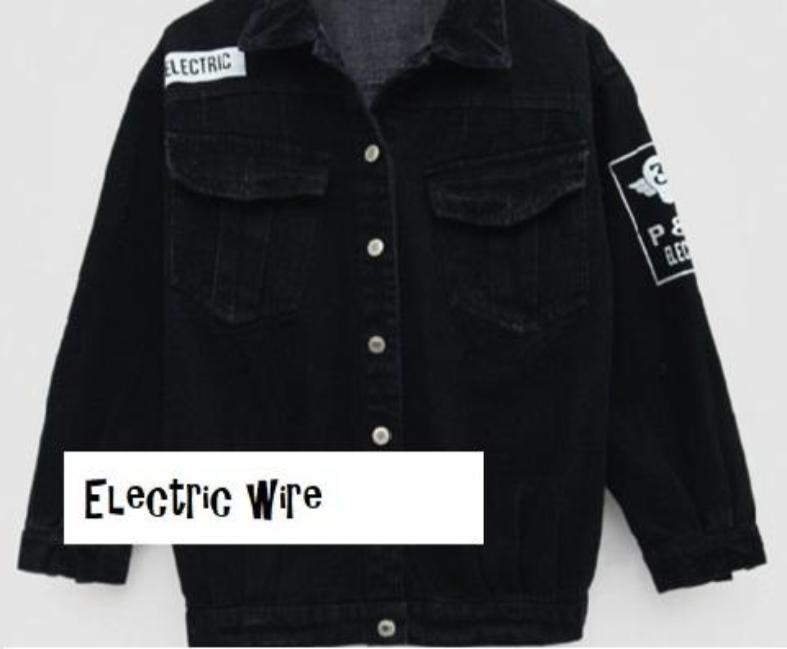 Denim -ELECTRIC WIRE- Jacket