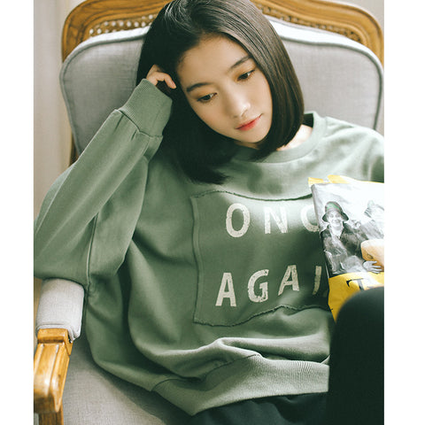 Korean fashion pullover