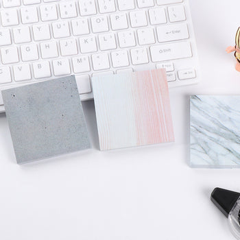 Notes Post-it en Marbre - Accessoire de bureau - Lucibell