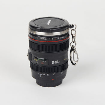 TO DO 60ml Mini Creative SLR Camera Lens mug 1:1 Scale Plastic Coffee mug, Stainless Steel insulation Vodka Camera Lens Portable Cup - Lucibell