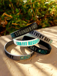 Stronger Every Day Wristband - CBD Fit Recovery