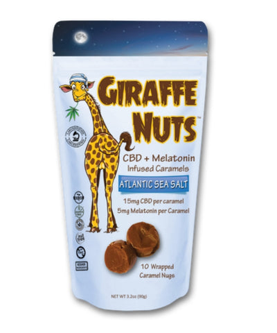 Giraffe Nuts - Sleep - CBD Fit Recovery