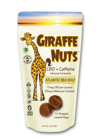 Giraffe Nuts - Energy - CBD Fit Recovery