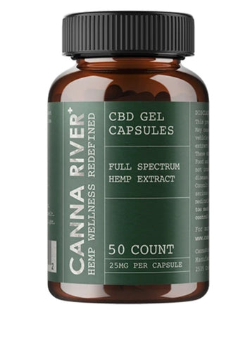 Full Spectrum CBD Gel Capsules 25mg