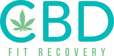 CBD Fit Recovery Vinyl Decals - CBD Fit Recovery