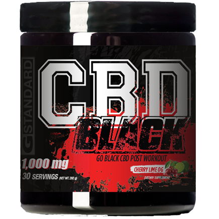 GO BLACK Post-Workout - CBD Fit Recovery