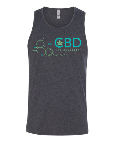 CBD Fit Recovery Men's Tank Top - CBD Fit Recovery