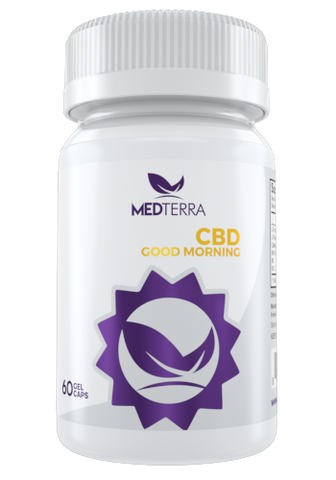 Good Morning Capsules - 750mg CBD - CBD Fit Recovery