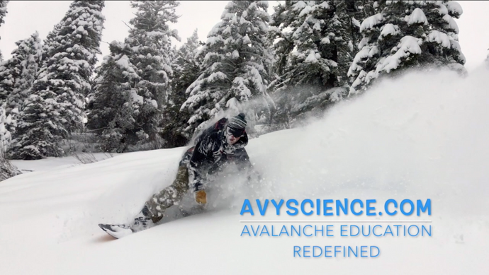 Video of POW Riding during 2018 Avalanche Science Courses