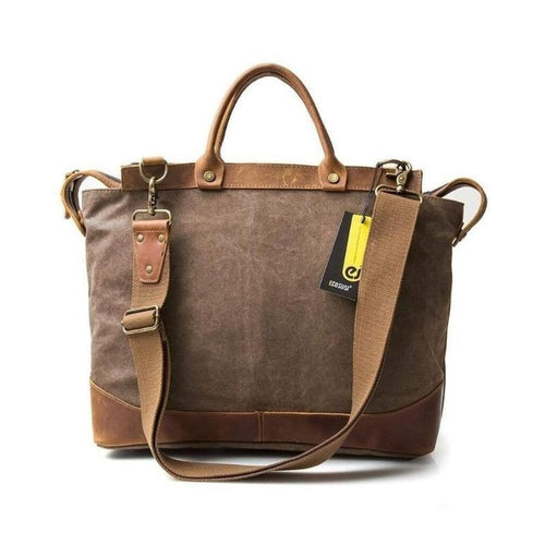 Canvas Cargo, Rustic Design-Bags-The Daily Vintage-The Daily Vintage
