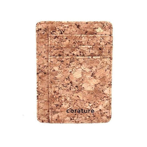 Cork Minimalist Wallet with RFID Protection-Accessories-Corature-The Daily Vintage