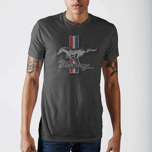 Ford Mustang Heather T-Shirt-T-Shirt-Ford-S-CHARCOAL-T-Shirt-The Daily Vintage