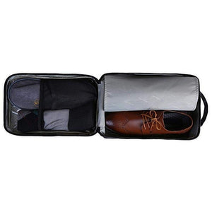 Travel Cube, with Shoe Pouch-Organized Travel-The Daily Vintage-The Daily Vintage