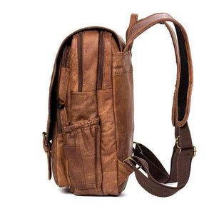Vintage Leather Backpack-Bags-The Daily Vintage-The Daily Vintage