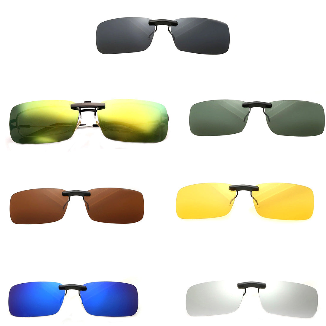 Polarized Clip On Sunglasses - United Retail Outlet