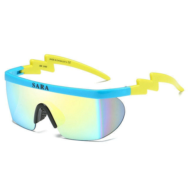 Wide Bridge Sport Cycling Sunglasses - United Retail Outlet