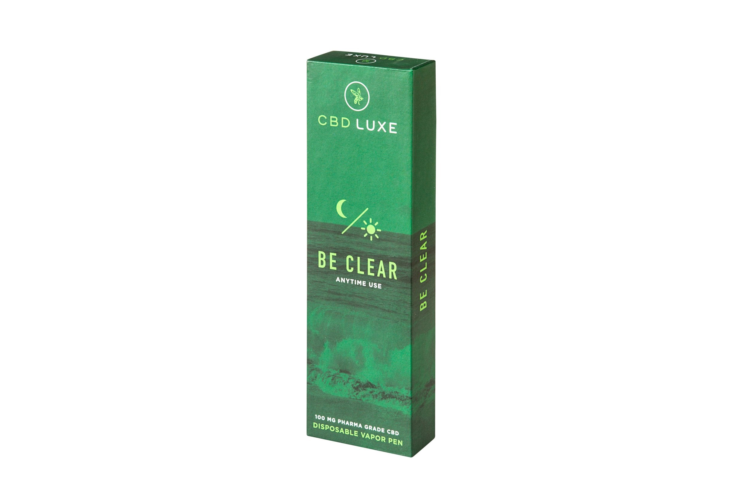 CBD Luxe Ultra Premium Vape Pen Be Clear