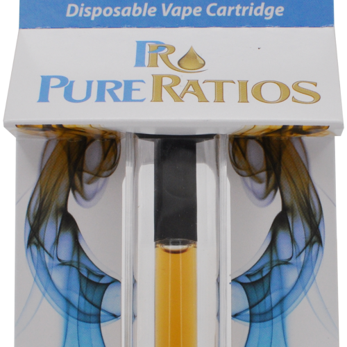 Pure Ratio Vape Cartridge 200 mg.